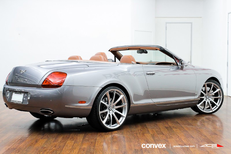 "The Continental Nyc >> Ace 22"" Convex Wheels w/ Bentley Continental GT GTC ..."