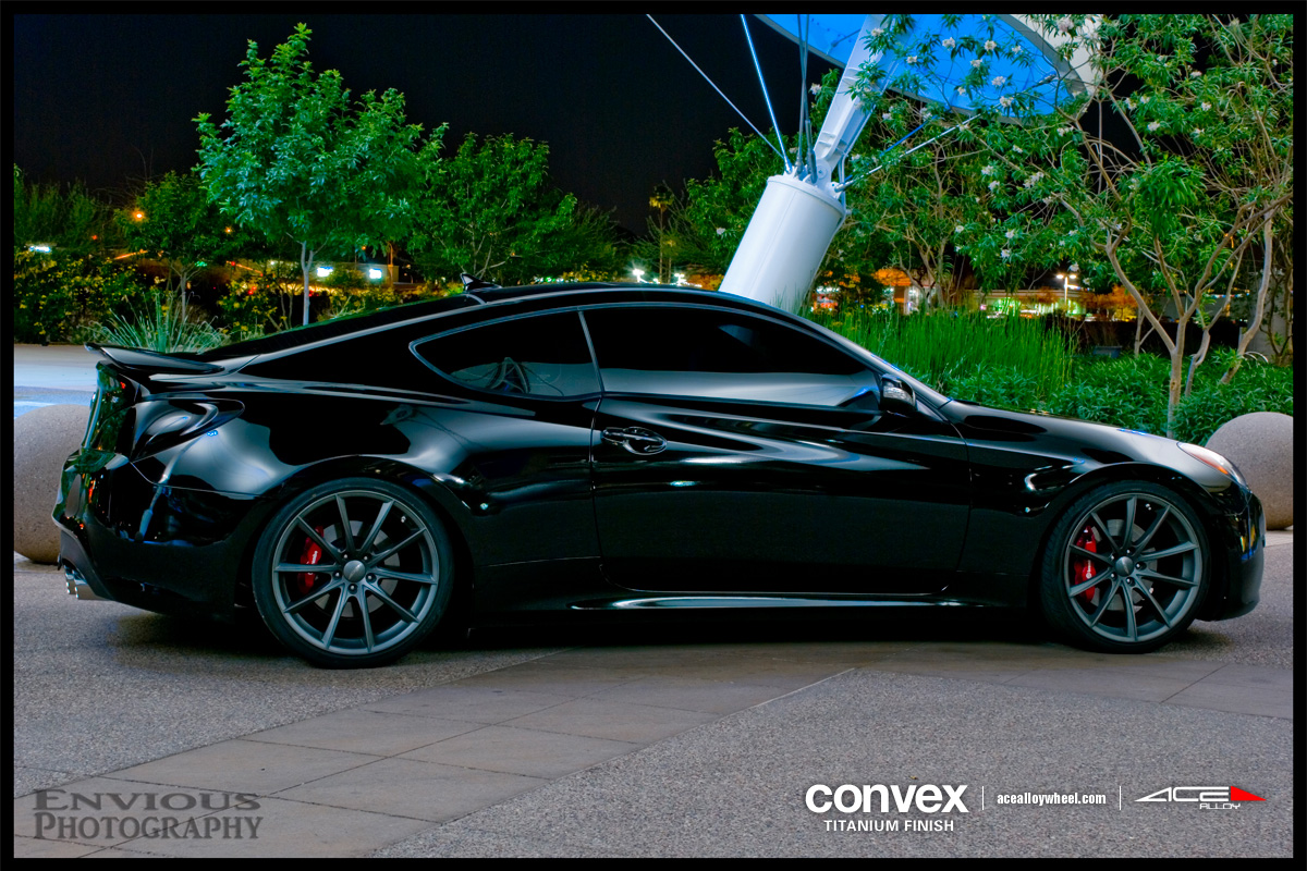 Ace 20 Quot Convex Wheels W Genesis Coupe
