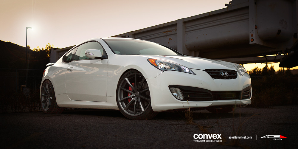 Ace 20 Quot Convex Wheels W Hyundai Genesis Coupe Grand